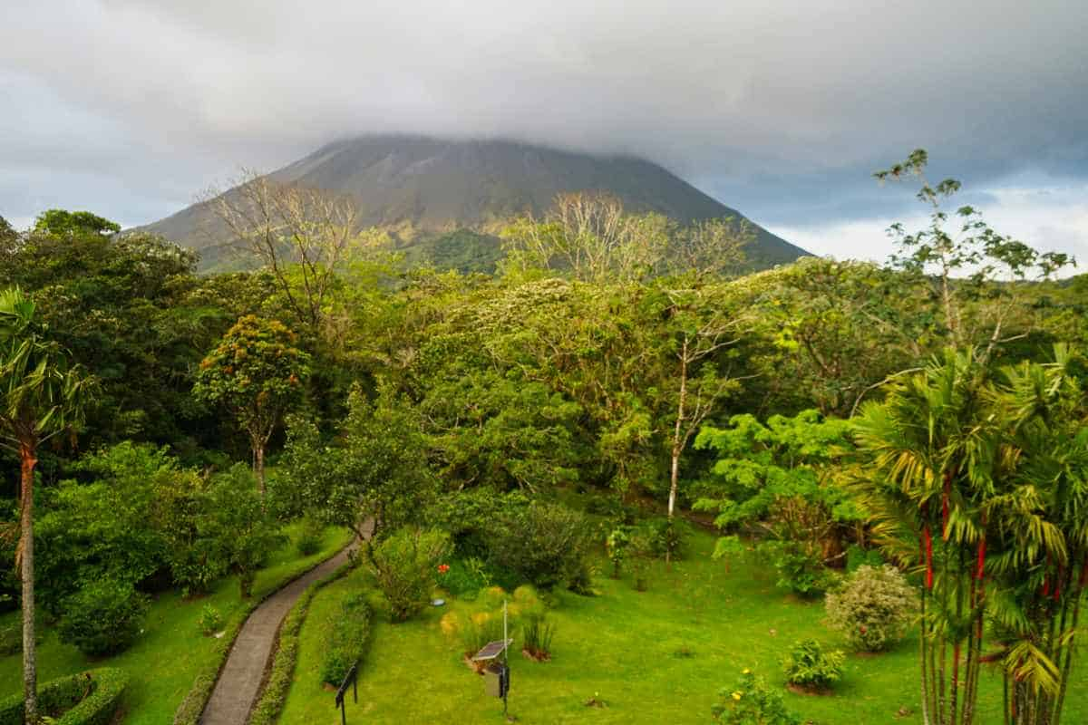The Arenal Volcano in Costa Rica