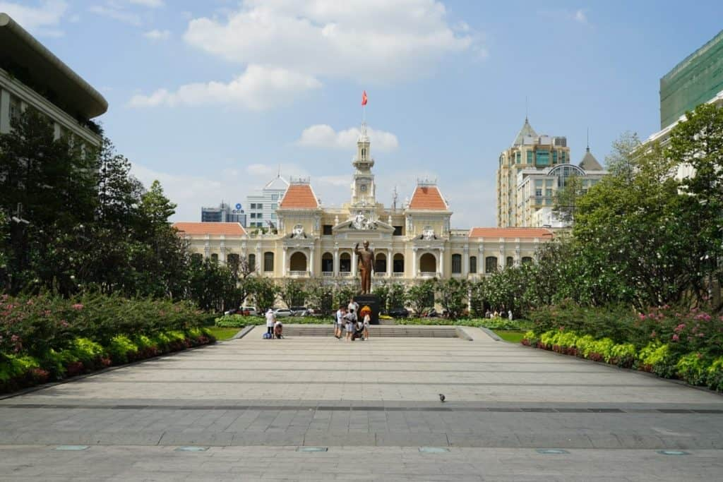 Rathaus Peoplescouncil in Ho Chi Minh Stadt